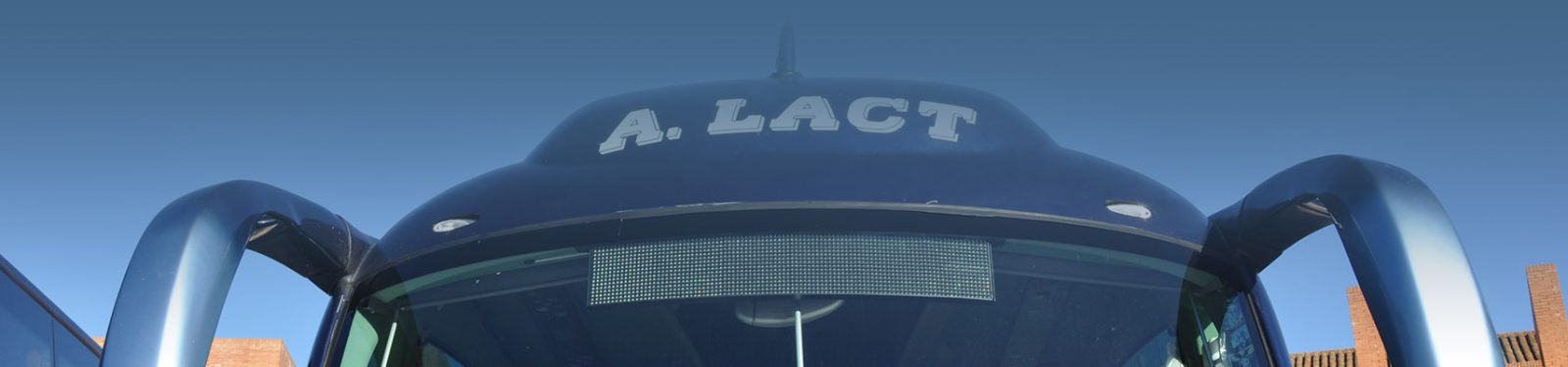 servicios de autocares LACT