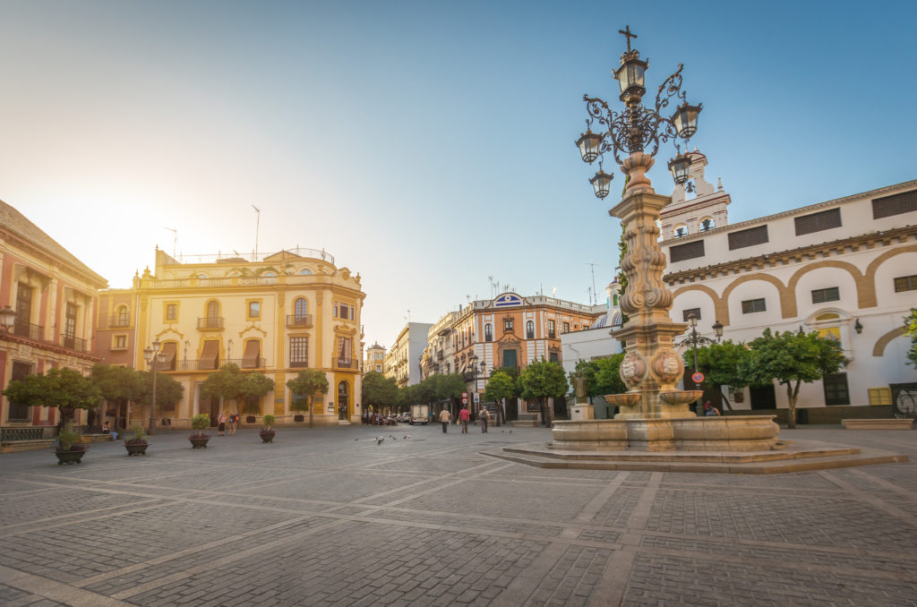 Viajar en bus en el Puente de Andalucía
