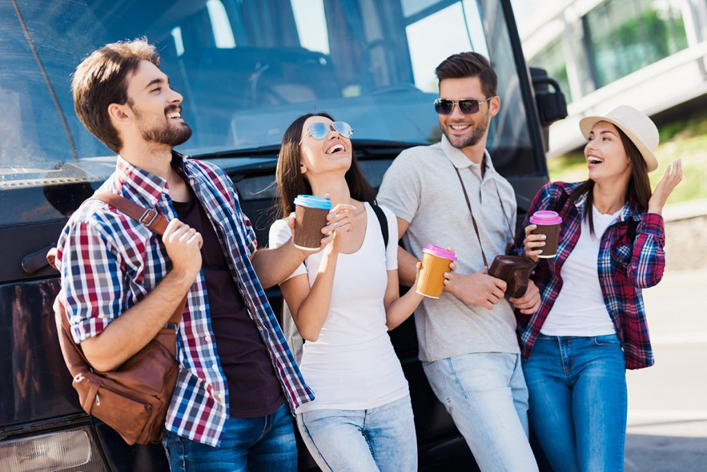 Vacaciones en autobús privado
