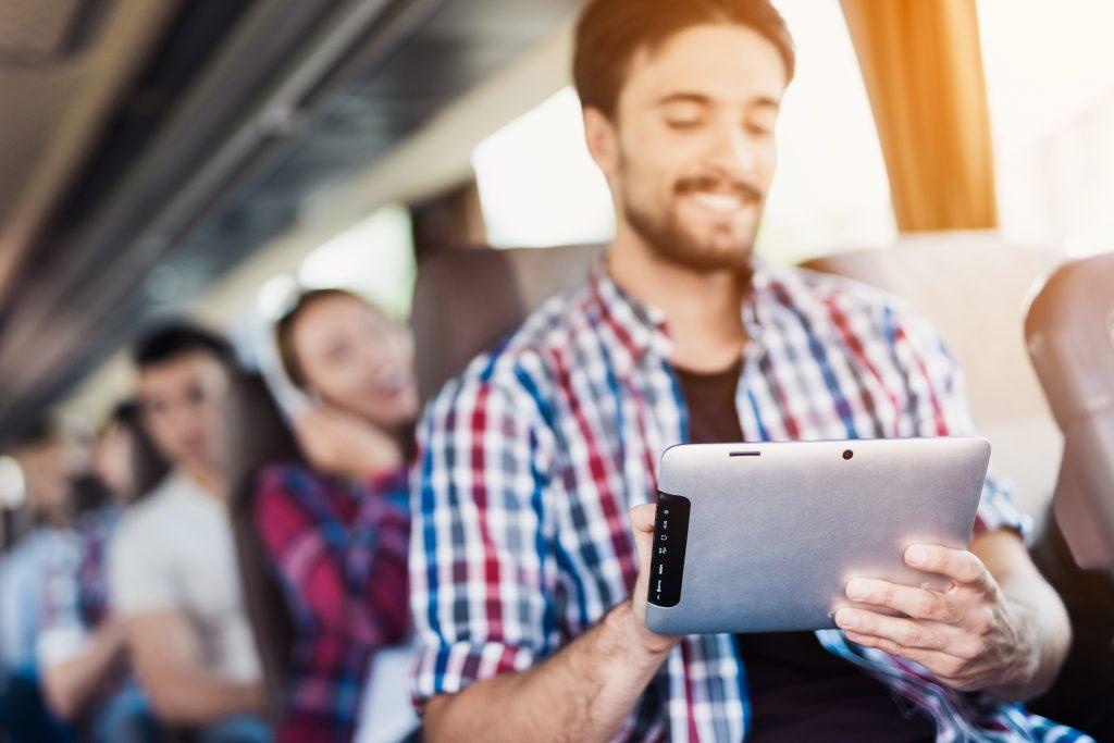WiFi en autobuses y autocares